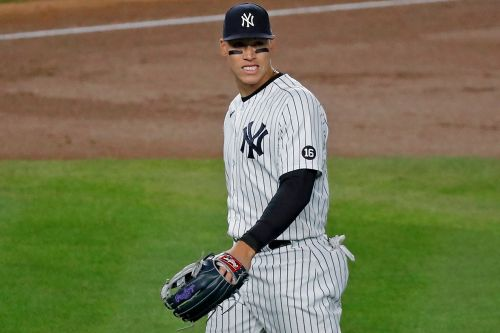 Yankees' Judge sits out with soreness in left side