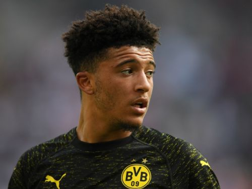 Sancho rise continues with Bundesliga Player of the Month award