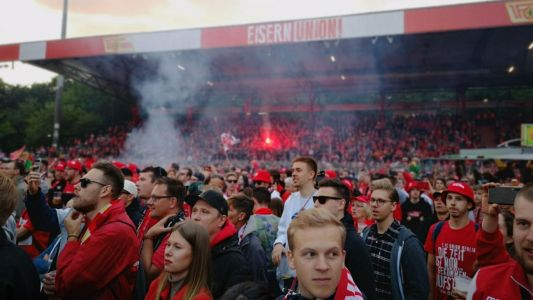 Inside Union Berlin's raucous two-day promotion party after reaching Bundesliga for first time