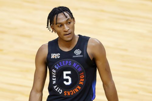 Immanuel Quickley is keeping receipts amid promising Knicks debut