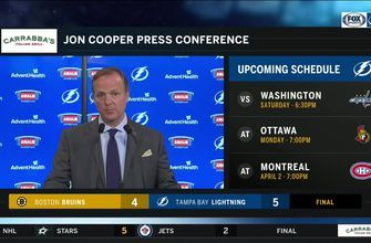 Jon Cooper breaks down how Lightning orchestrated comeback win over Bruins