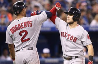 Red Sox hit 4 home runs in 12-2 rout of Blue Jays