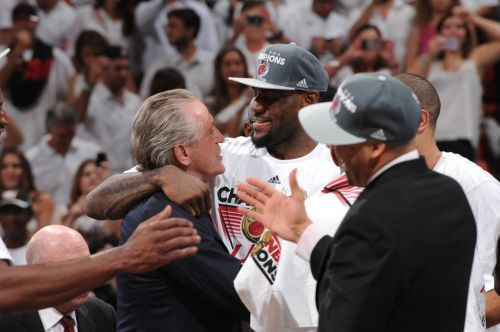Pat Riley: Heat Dynasty Flew 'Out the Window' When LeBron James Left