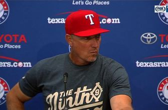 Jeff Banister talks pitching in 5-3 win over Diamondbacks