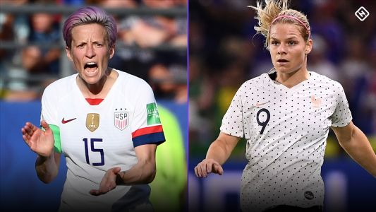 USWNT vs. France odds: USA a slim favorite in 2019 Women's World Cup quarterfinal