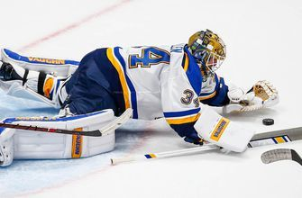 A chance to shine: Blues' Allen to be in net against Blackhawks