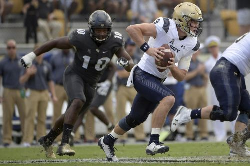 Navy offense finds a spark in 35-24 loss to No. 12 UCF