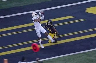 California's muffed punt sets up Michael Wilson 11-yard TD catch, tie 'The Big Game' at 10-10