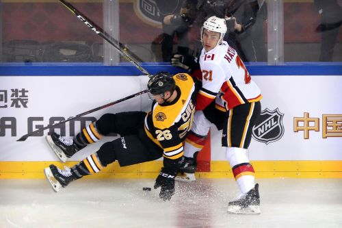 Boston Bruins douse Calgary Flames 3-1 in Beijing