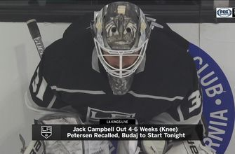 With Jack Campbell out, it's next man up time for LA Kings