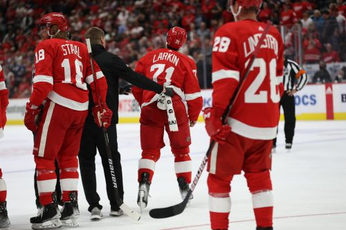 NHL suspends Detroit Red Wings' Dylan Larkin for throwing punch in retaliation