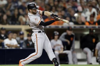 Home runs by Crawford, Longoria lift Giants to 4-2 win over Padres