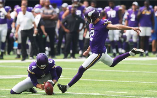 Vikes cut kicker Kai Forbath; rookie Daniel Carlson gets job