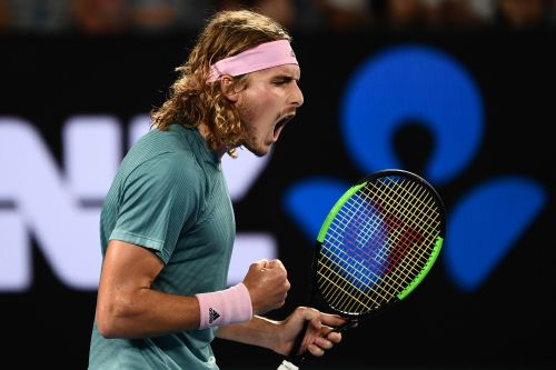 Six-time Australian Open champ Roger Federer is upset by Stefanos Tsitsipas