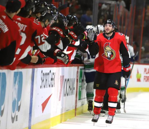 Ryan has hat trick for Senators after three months in league assistance program
