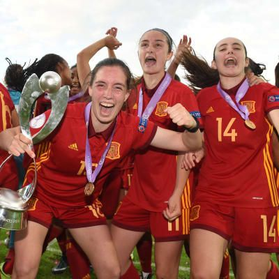 Spain head to World Cup as European champions