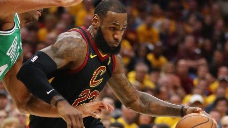 LeBron powers Cavs back into contention in East final against Celtics