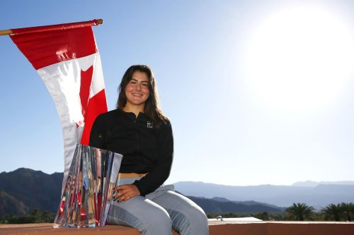 Andreescu rockets to No. 24 in WTA Tour rankings after Indian Wells title
