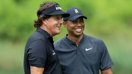 Mickelson looking to throw Tiger off with $100K side bets during match