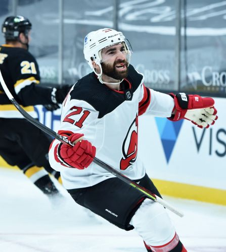 Devils trade Kyle Palmieri, Travis Zajac to Islanders for first-round pick, prospects