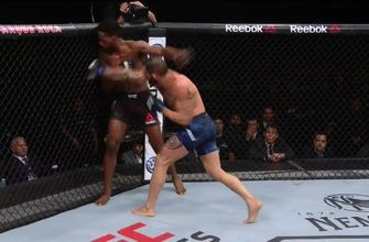 Santiago Ponzinibbio KO's Neil Magny | HIGHLIGHT | UFC FIGHT NIGHT