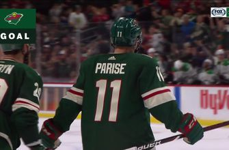 WATCH: Wild's Zach Parise scores in return from injury