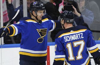 Blues release regular-season schedule opening Oct. 4 at home