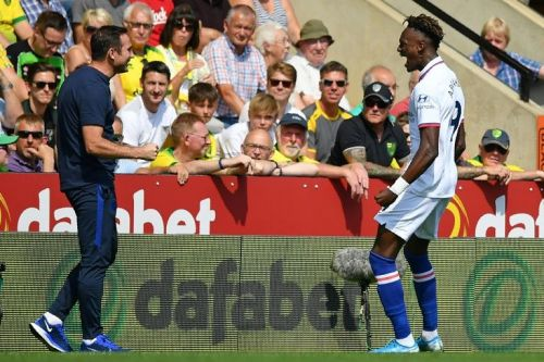 Abraham double fires Chelsea to first win of Lampard's reign