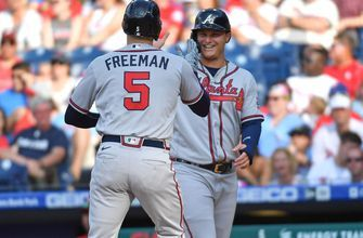 Joc Pederson goes 4-for-6 with a homer and four RBI as Braves crush Phillies, 15-3