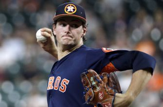 Whitley finishes strong spring showing for Astros