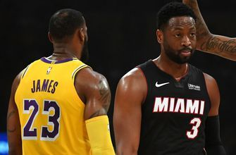 Heat battle to last shot, but fall to Lakers in LeBron James and Dwyane Wade's probable final meeting