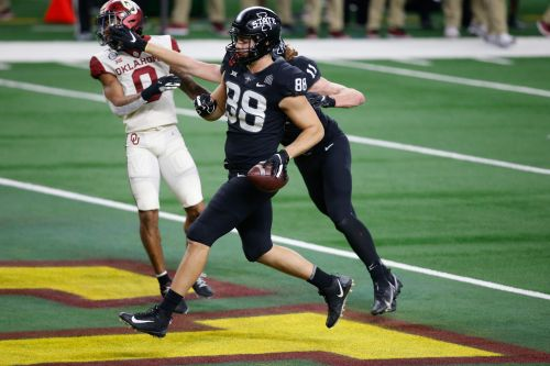 All-America tight end Charlie Kolar leading Iowa State after coin flip decision to return for 2021