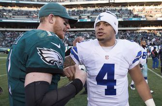 Cris Carter and Nick Wright look ahead to Cowboys vs. Eagles Week 10 matchup