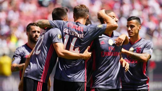 Benfica hit three past Chivas in shutout win