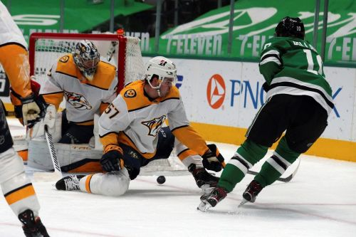 Predators beat Stars 4-3 in shootout
