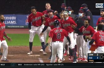WATCH: Jordan Luplow lifts Indians to second straight walk-off win