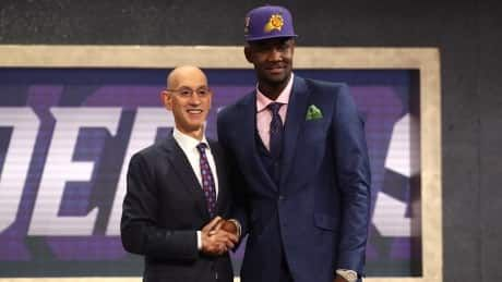 Phoenix Suns select Deandre Ayton 1st overall in NBA draft