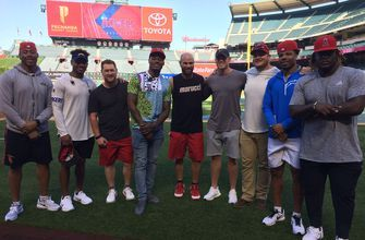 Interleague play: Chargers take to the Big A for Angels game