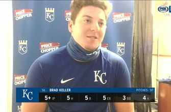 Brad Keller 'really frustrated' to allow two homers against Brewers