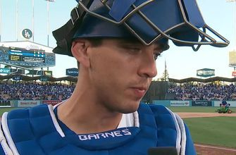 Austin Barnes talks about Clayton Kershaw's dominant NLCS Game 5