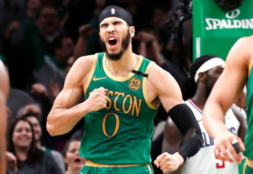 Jayson Tatum pours in 39 to lead Celtics to 2 OT win over Clippers