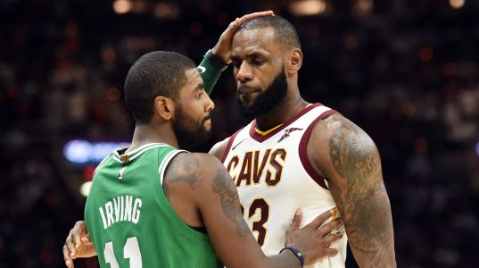 LeBron James was 'adamant' with Cavaliers GM: Do not trade Kyrie Irving