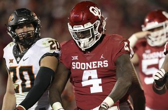 No. 6 Oklahoma barely edges Oklahoma State 48-47 as Bedlam lives up to it's name