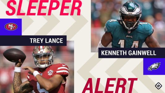 Week 5 Fantasy Sleepers: Trey Lance, Kenneth Gainwell go from top waiver pickups to starters