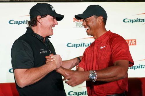 The Match: Phil Mickelson baits Tiger Woods into $200K side bet