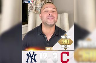 Nick Swisher recaps every AL Wild Card Round Game 1 - Yankees win big, Astros squeak by