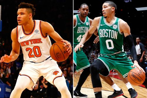 Knox drawing comparisons with emerging Celtics star he's set to face