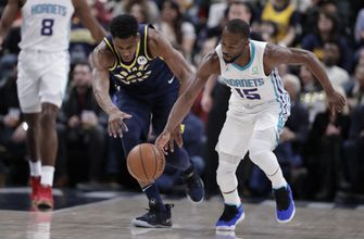 Pacers keep rolling with 120-95 victory over Hornets
