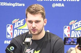 Luka Doncic on All-Star snub, LeBron's influence at NBA Rising Stars media day