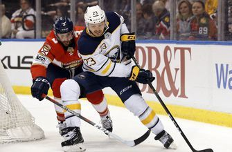 Reinhart eagerly rejoins Sabres with new contract signed
